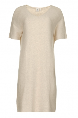 Knit-ted |  Lightweight knitted dress Robin | beige