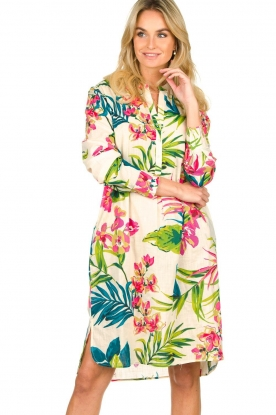 Lolly's Laundry |  Cotton floral dress Lucca | multi