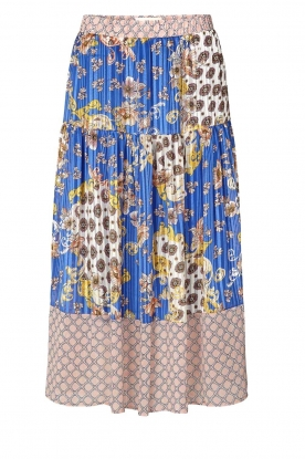 Lolly's Laundry | Printed midi skirt Cokko | blue