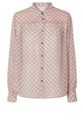 Lolly's Laundry | Print blouse Molly | pink