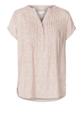 Lolly's Laundry | Printed top Heather | nude