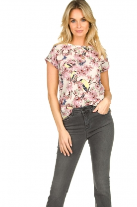Lolly's Laundry |  Floral top Krystal | multi