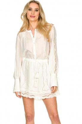 Patrizia Pepe |  Ajour dress Apollo | white