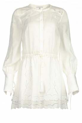 Patrizia Pepe |  Ajour dress Apollo | white