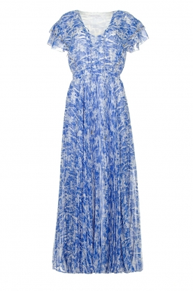 Patrizia Pepe |Maxi dress with print Antholia | blue