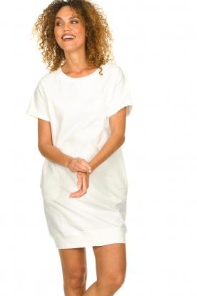 Blaumax | Sweater jurk Queens | wit