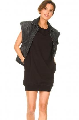 Blaumax | Sweater jurk Queens | zwart