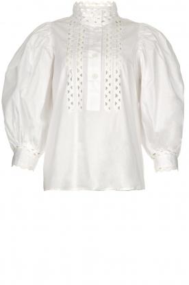 Antik Batik | Popline blouse Malia | wit
