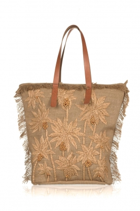 Antik Batik | Beach bag Barry | brown
