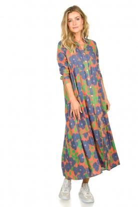 Look Floral maxi dress Anju
