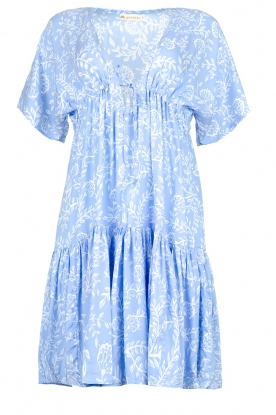 Genesis |  Print dress Tanah | blue