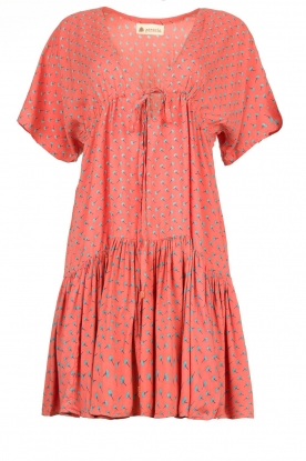 Genesis |  Print dress Tanah | red