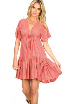 Genesis |  Print dress Tanah | red