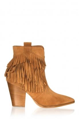 Janet & Janet |  Fringe boots Vesta | camel