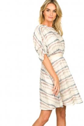 Fracomina    Dress with decorations Vanessa   natural
