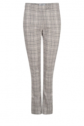 Dante 6 | Checkered pants Lennon | grey