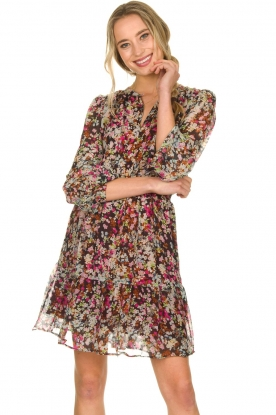 Dante 6 |  Flower print dress Okala | multi
