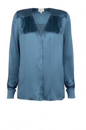 Dante 6 |  Silk blouse Kalea | blue