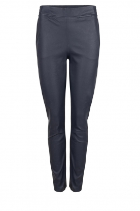 Dante 6 |  Leather pants Lebon | blue