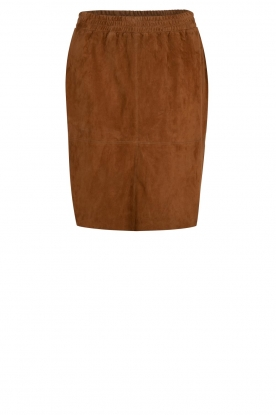 Dante 6 |  Suede skirt Comet | brown
