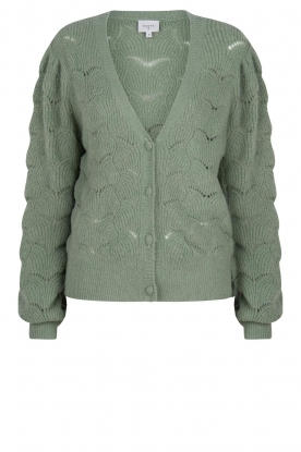 Dante 6 |  Knitted cardigan | green