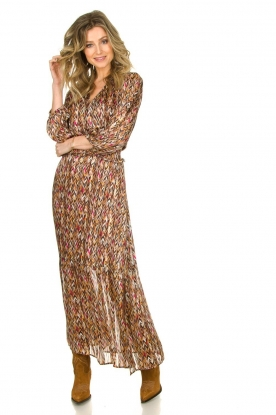 Dante 6 |  Printed maxi dress Bardon | multi