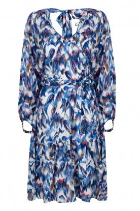 Dante 6 |  Print dress Amora | blue