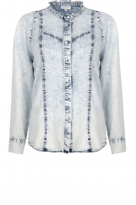 Dante 6 |  Denim blouse Covey | blue