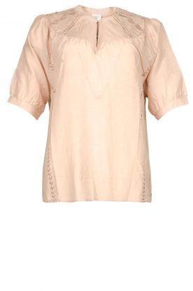 Dante 6 | Cotton blouse Birken | nude