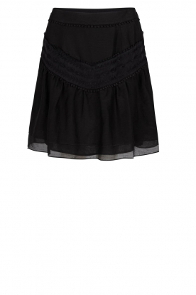 Dante 6 | Skirt with pompom details Loubi | black