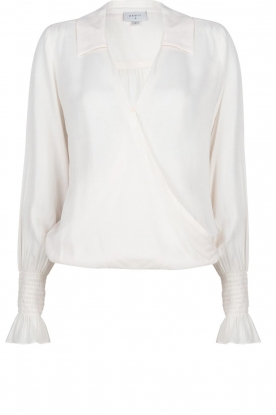 Dante 6 | Wrap blouse Remote | natural