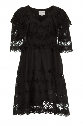 Antik Batik | Cut open dress Ally | black