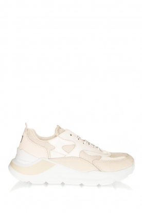D.A.T.E |  Chunky sneakers Lurex | white