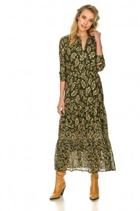 Sofie Schnoor |  Printed maxi dress Abbi | green