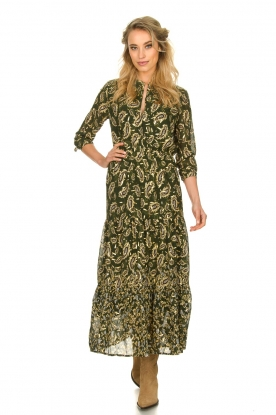 Sofie Schnoor |  Printed maxi dress Abbi | green
