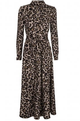 Sofie Schnoor |  Leopard printed maxi dress Lula | animal print