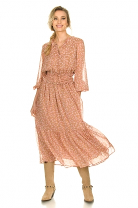 Sofie Schnoor |  Printed maxi dress Vinnie | pink
