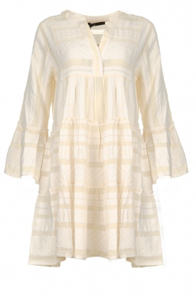 Devotion |  Cotton print dress Georgina | natural