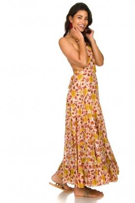 Look Printed maxi dress Neptune