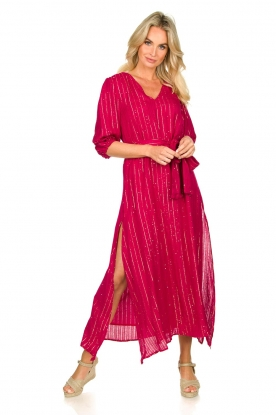Sundress | Kaftan jurk Halo | roze