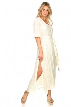 Sundress | Kaftan jurk Halo | naturel
