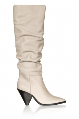 Toral |  Leather boots Elisio | chalk