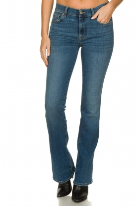 7 For All Mankind |  Bootcut jeans Soho Light | blue
