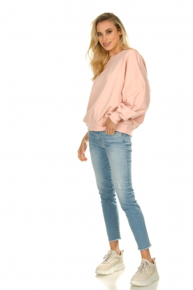 7 For All Mankind | Jeans met ripped details Pyper crop | blauw