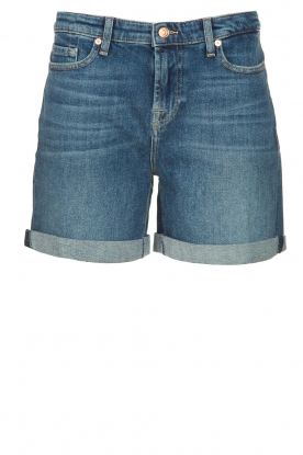 7 For All Mankind |Boy shorts Tania | blue