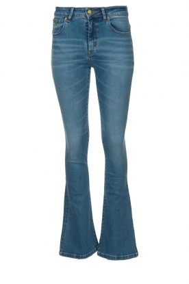 Lois Jeans | L32 Flared high waist jeans Raval | blauw
