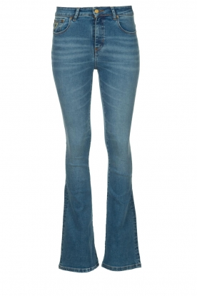Lois Jeans | L34 Flared high waisted jeans Raval | blauw