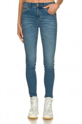 Lois Jeans    High waist cropped skinny Celia   blue