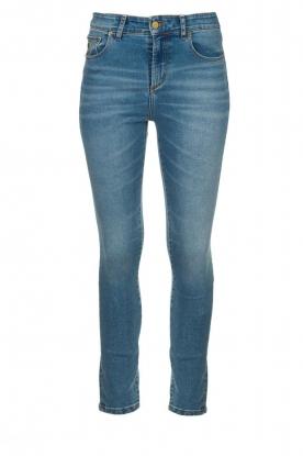 Lois Jeans |  High waist cropped skinny Celia | blue