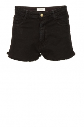 ba&sh    Stretchy denim shorts Cluego   black